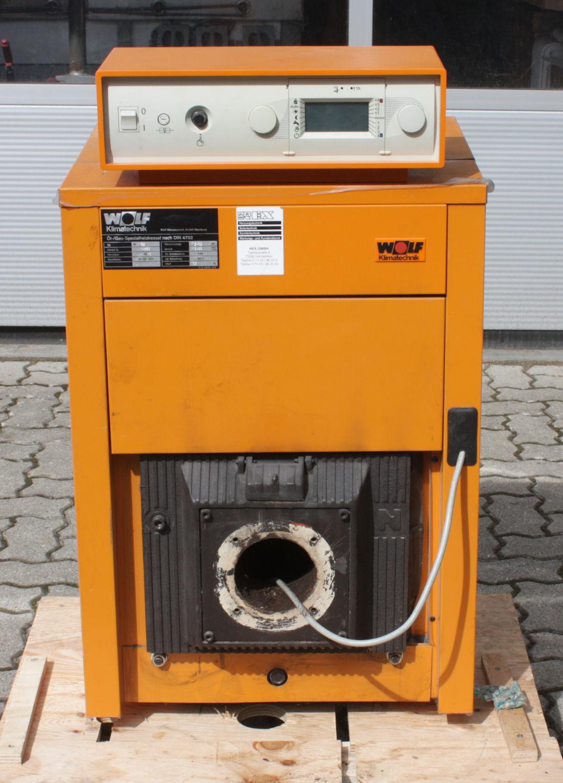 Wolf Öl- /Gaskessel HK25 Heizungsregelung R16 ohne Brenner - Bj ...